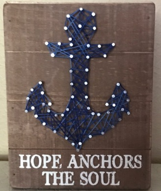anchored in hope plaque