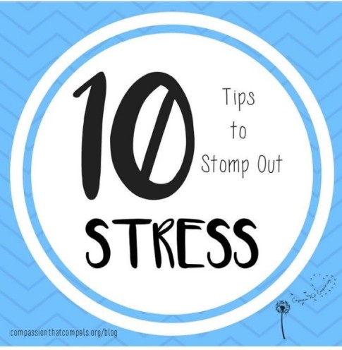 10 Stress Tips