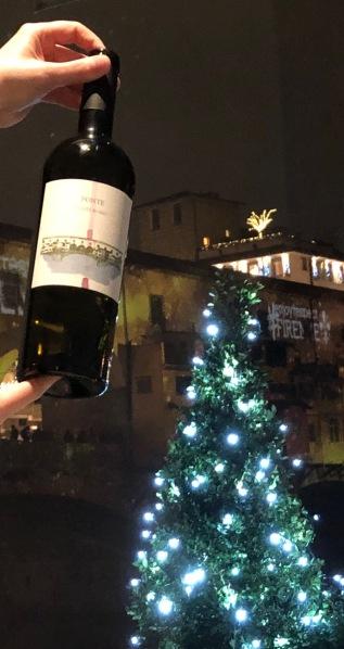 Florence-golden bridge wine