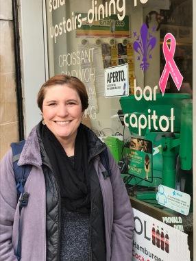 Florence-pink ribbon