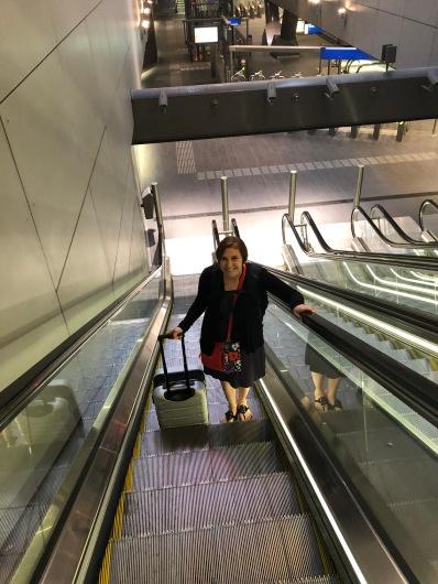 Paris-metro in AMS