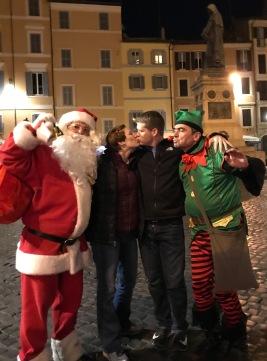 Rome-Santa and Elf