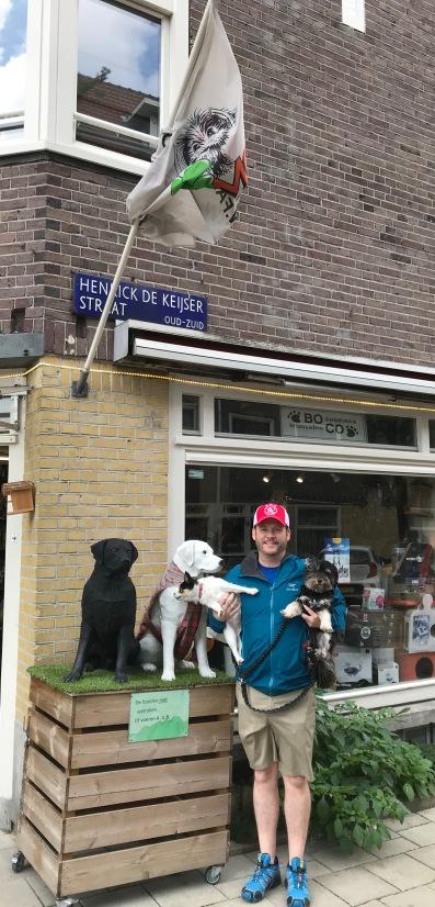AA 5-Macy barking at fake dog