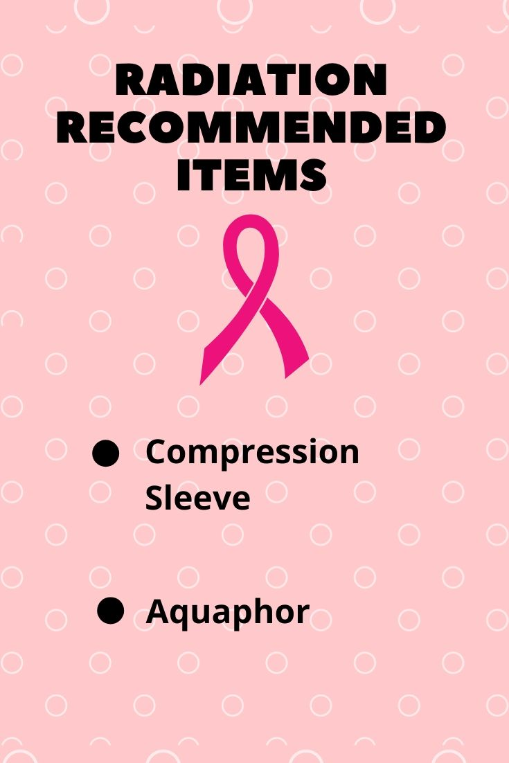 Radiation Recommended Items List